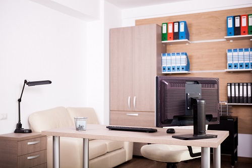 services d'aménagement d'espaces professionnels