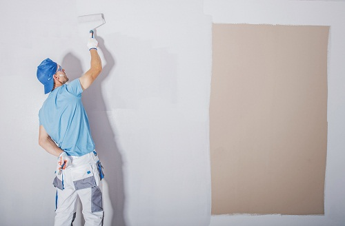 sa peinture haut de gamme d'intérieur.